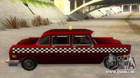 GTA3 Borgnine Cab pour GTA San Andreas laissé vue