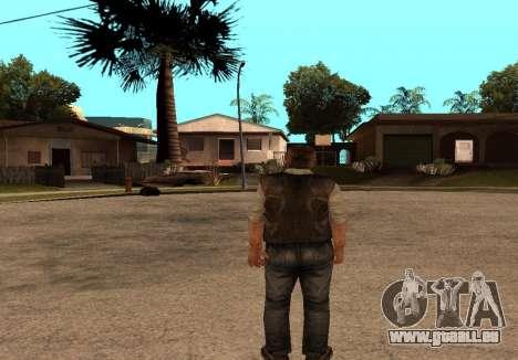 Sidorovich de S. T. A. L. K. E. R pour GTA San Andreas troisième écran