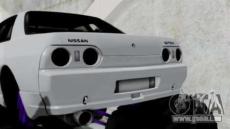 Nissan Skyline R32 Monster Truck für GTA San Andreas zurück linke Ansicht