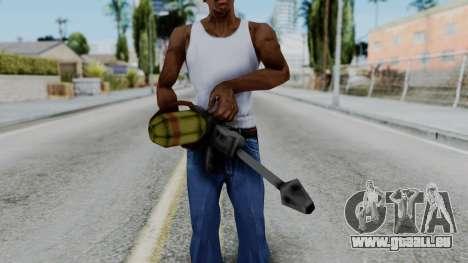GTA 3 Flame Thrower für GTA San Andreas dritten Screenshot