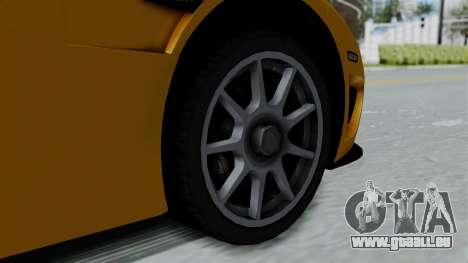 Koenigsegg CCXR 2013 pour GTA San Andreas vue de droite