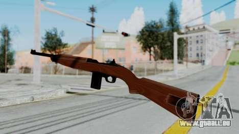 M1 Carbine pour GTA San Andreas deuxième écran