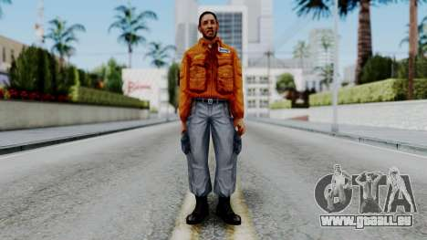 CS 1.6 Hostage 04 pour GTA San Andreas deuxième écran