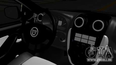 Dacia Logan für GTA San Andreas zurück linke Ansicht