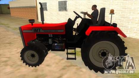 IMT Traktor pour GTA San Andreas laissé vue