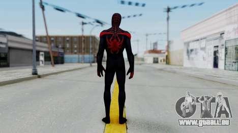 Marvel Future Fight Spider Man Miles v2 pour GTA San Andreas troisième écran