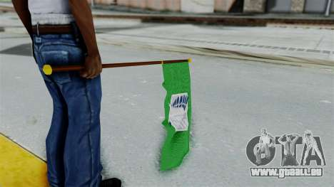 Attack On Titan Survey Crops Flag pour GTA San Andreas troisième écran