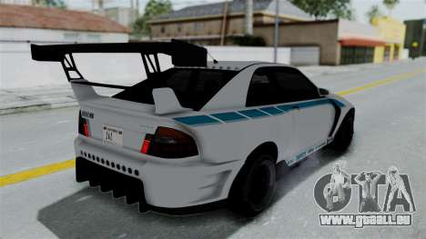 GTA 5 Karin Sultan RS Drift Double Spoiler PJ pour GTA San Andreas moteur