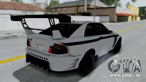 GTA 5 Karin Sultan RS Drift Double Spoiler PJ pour GTA San Andreas vue de côté