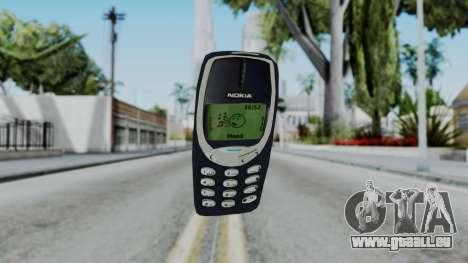 Nokia 3310 Grenade pour GTA San Andreas