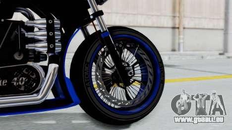 Turbike 4.0 pour GTA San Andreas sur la vue arrière gauche