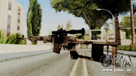 Dragunov Elite pour GTA San Andreas deuxième écran