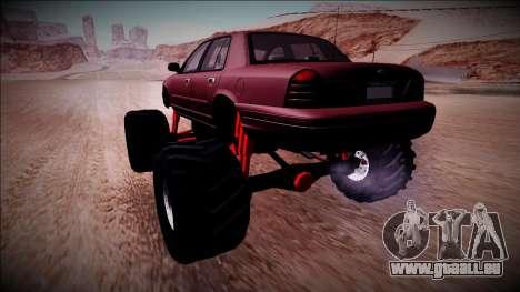 2003 Ford Crown Victoria Monster Truck für GTA San Andreas linke Ansicht
