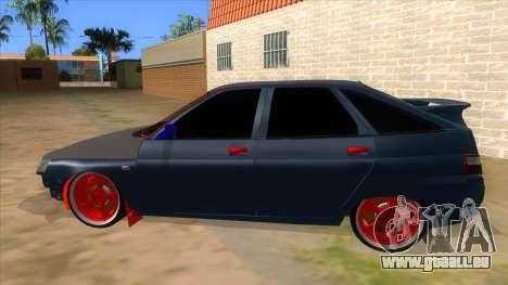 VAZ 2112 Hobo pour GTA San Andreas laissé vue