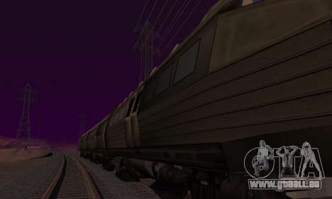 Batman Begins Monorail Train Vagon v1 pour GTA San Andreas moteur