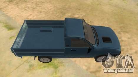 Dacia 1305 Drop-Side für GTA San Andreas Innenansicht