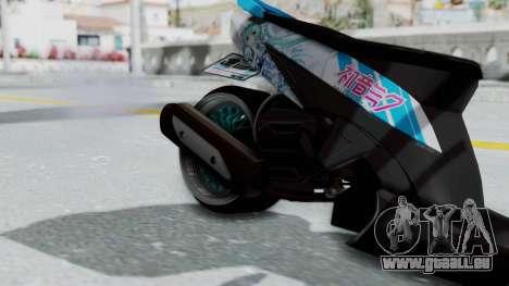 Honda Vario 110 Hatsune Miku Itansha für GTA San Andreas rechten Ansicht