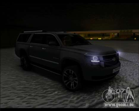Chevrolet Suburban 2015 für GTA San Andreas