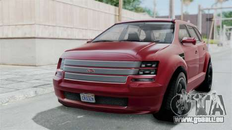 GTA 5 Vapid Radius IVF pour GTA San Andreas