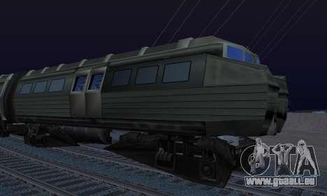 Batman Begins Monorail Train Vagon v1 pour GTA San Andreas vue arrière