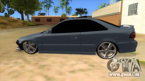 Honda Civic Coupe 1995 für GTA San Andreas linke Ansicht