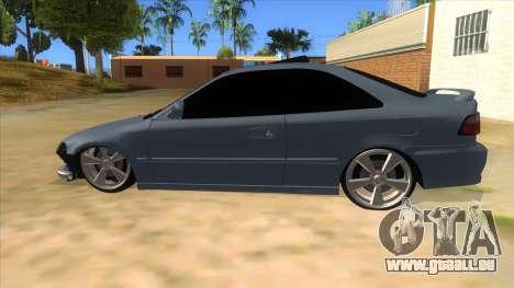 Honda Civic Coupe 1995 pour GTA San Andreas laissé vue