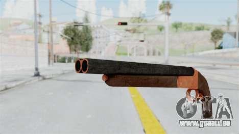 Double Barrel Shotgun Orange Tint (Lowriders CC) pour GTA San Andreas deuxième écran