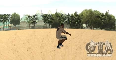 Invisibile BMX pour GTA San Andreas troisième écran