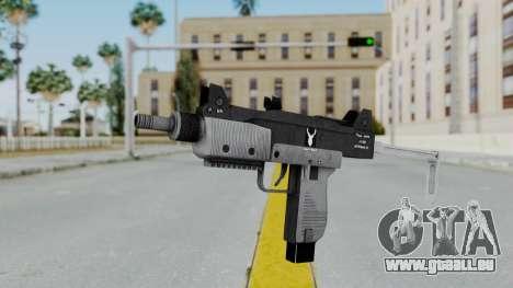 GTA 5 Micro SMG - Misterix 4 Weapons pour GTA San Andreas deuxième écran