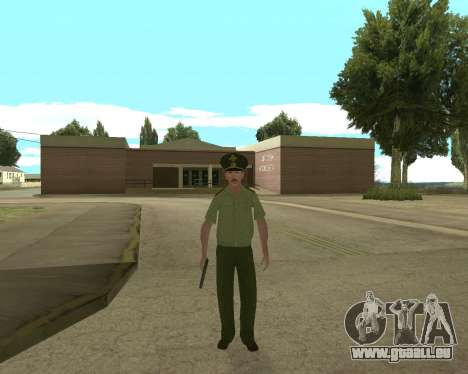 Senior warrant officer danyluk für GTA San Andreas zweiten Screenshot