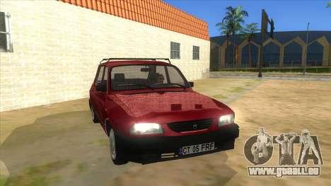 Dacia 1310L 1999 pour GTA San Andreas vue arrière