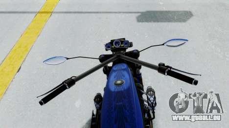 Turbike 4.0 pour GTA San Andreas vue arrière