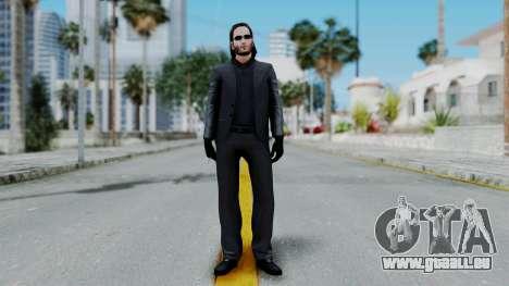 John Wich - Payday 2 pour GTA San Andreas deuxième écran