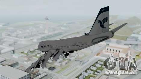 Boeing 747-186B Iran Air pour GTA San Andreas laissé vue