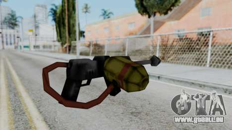 GTA 3 Flame Thrower pour GTA San Andreas deuxième écran