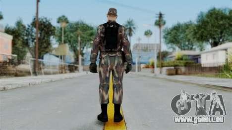 MH x Hungarian Army Skin pour GTA San Andreas troisième écran