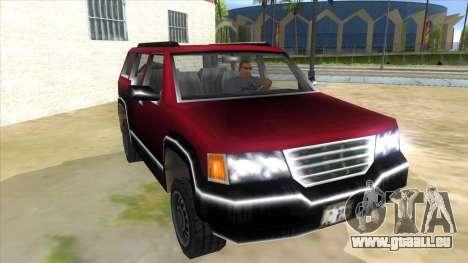 GTA III Landstalker für GTA San Andreas Rückansicht