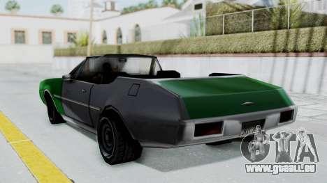 Clover Cabrio für GTA San Andreas linke Ansicht