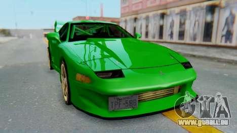 Mitsubishi GT3000 FnF für GTA San Andreas rechten Ansicht