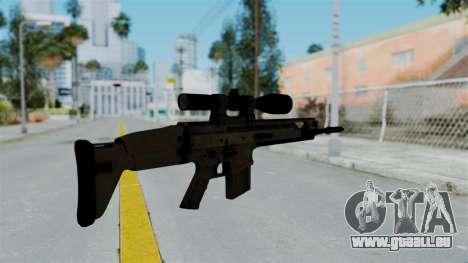 SCAR-20 v1 No Supressor für GTA San Andreas zweiten Screenshot