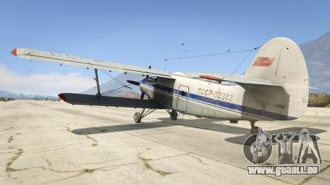 GTA 5 An-2 troisième capture d'écran