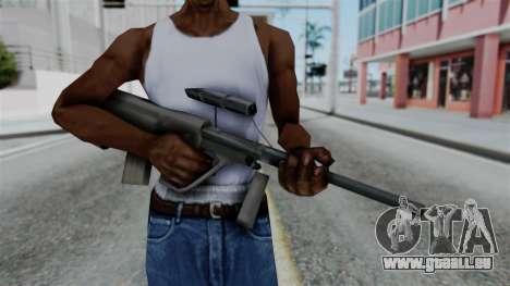 Vice City Beta Steyr Aug für GTA San Andreas dritten Screenshot
