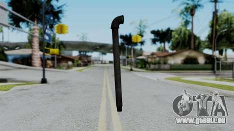 No More Room in Hell - Lead Pipe pour GTA San Andreas deuxième écran