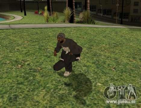 Black fam1 für GTA San Andreas dritten Screenshot