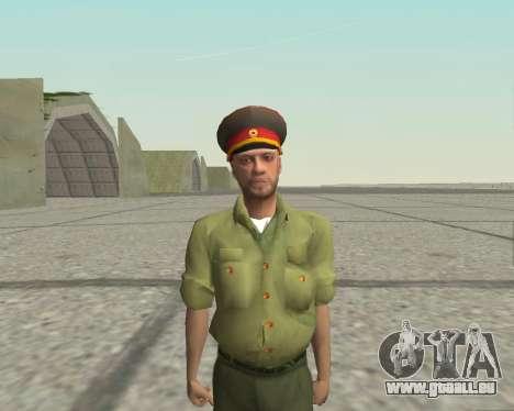 Officier des forces armées de la Fédération de r pour GTA San Andreas