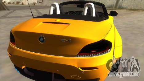 BMW Z4 Liberty Walk Performance für GTA San Andreas rechten Ansicht