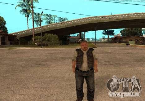 Sidorovich de S. T. A. L. K. E. R pour GTA San Andreas