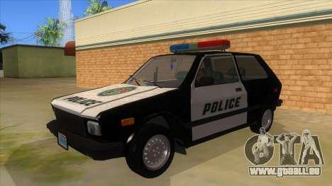 Yugo GV Police pour GTA San Andreas