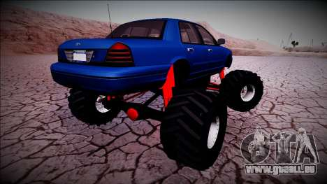 2003 Ford Crown Victoria Monster Truck pour GTA San Andreas