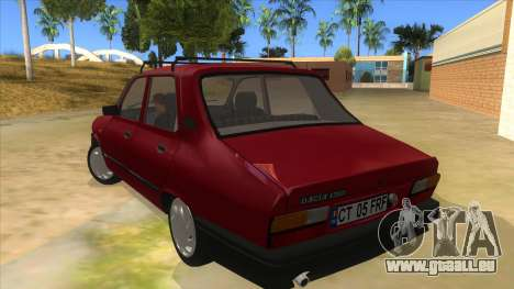 Dacia 1310L 1999 pour GTA San Andreas sur la vue arrière gauche
